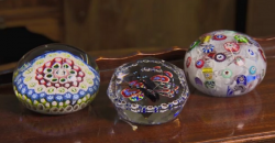 Susan's paperweights from the nineteenth century on Flog It