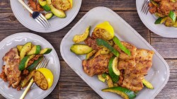 Smoky Chicken Thighs and Zucchini on The Rachael Ray Show