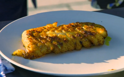 Shaish's white fish with masala spice blend on The Best of British Takeaways