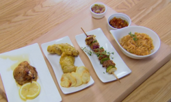 Paulina and Paul's West African rabbit dishes on Chopping Block