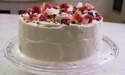John Whaite's angel food cake on Chopping Block