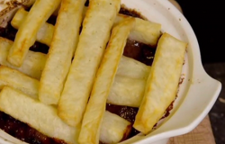 Paul's stew with wagu beef, Belgian beer and chips on Paul Hollywood: City Bake
