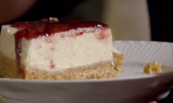 Ava's Icelandic Skyr cheesecake on Paul Hollywood City Bakes