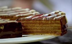 Paul's chocolate layer cake with Belgian chocolate recipe on  Paul Hollywood: City Bake