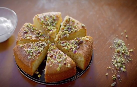 Paul Hollywood shamali cake recipe on Paul Hollywood City Bakes in Cyprus