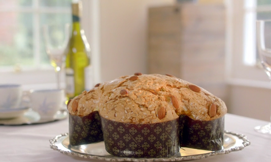 Maria's colomba di pasqua  Easter dove cake recipe on Mary Berry Easter Feast