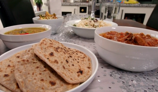 Matt Tebbutt Indian banquet on Save Money: Good Food