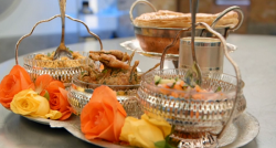 Saliha's vegetable biryani with paneer and lassie Indian feast on Masterchef UK 2017