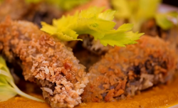 Matt Tebbut's Japanese katsu vegetarian curry on Save Money: Good Food