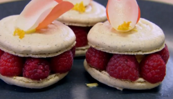David and Rebecca's  macarons on Chopping Block