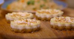 Matt Tebbutt's New York style cheesecake Save Money: Good Food