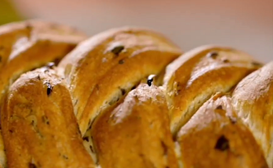 Paul Hollywood's olive, onion and coriander bread on City Bakes in Cyprus