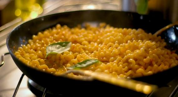 Nigella Lawson's pasta with pesto trapanese on Saturday Kitchen