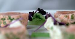 Poached salmon with dill on Raymond Blanc: How to Cook Well.