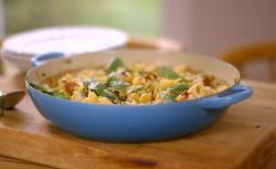 Matt Tebbutt's chicken and saffron risotto recipe on Save Money: Good Food
