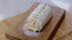 John Whaite's Meringue roulade recipe on Chopping Block