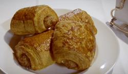 Yohan's posh sausage rolls on Paul Hollywood City Bake