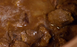 Yohan's flemish stew with wagyu beef and Belgian beer on Paul hollywood: City Bake