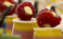 Paul Kelly's passionfruit and raspberry tart on Paul Hollywood City Bakes