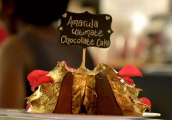 Amarula ultimate chocolate cake on Paul Hollywood City Bakes