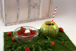 Danny's Please sir, Can I Have My Ball Back dessert on the Great British Menu