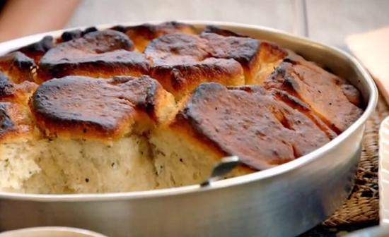 Kubana bread (with a croissant texture) on Paul Hollywood City Bakes