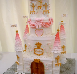 Eloise Durrant Fairy Castle Cake on Extreme Cake Makers