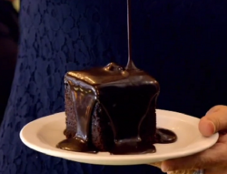 Jackie's chocolate fudge brownie on Paul Hollywood City Bakes