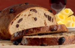Paul Hollywood Norwegian Christmas bread using Harold's recipe on Paul Hollywood: City Bakes