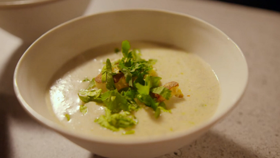 Simon Rimmer mulligatawny soup on Eat the Week with Iceland