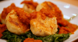 Matt Tebbutt's smoked haddock fish cakes with homemade tomato ketchup on Save Money: Good Food