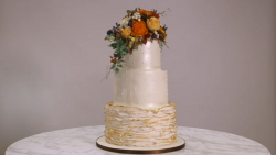 Suzanne's Autumnal Wedding Cake on Extreme Cake Makers