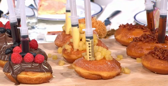 French doughnuts on Sunday Brunch