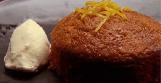 Arum Nixon Ginger Cake on Masterchef Australia