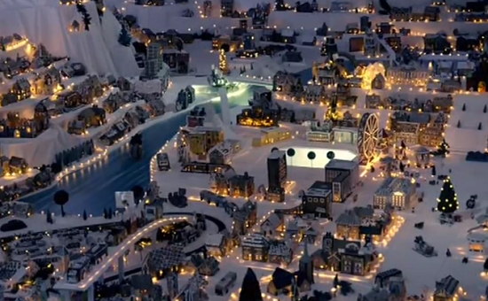 The Gingerbread Town in Bergen, Norway on Paul Hollywood: City Bakes