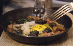 Gypsy eggs with tripe and black pudding on Hairy Bikers' Best of British
