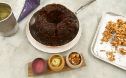 Paul Ainsworth monkey bread dessert on Masterchef 2017 UK
