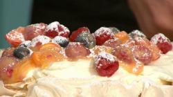 Simon Rimmer's pavlova with summer fruit on Sunday Brunch