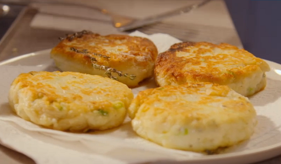 Simon Rimmer  potato scones on Eat the Week with Iceland