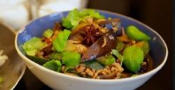 Matt Tebbutt's Thai basil pork dish on Save Money: Good Food