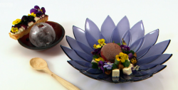 Tom's Whim-Bil-Done dessert on the Great British Menu