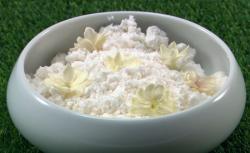 Mike's Wimbledon Whites dessert on the Great British Menu