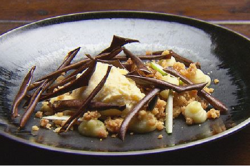 Arum's Backyard Apple Crumble dessert on Masterchef Australia 2017