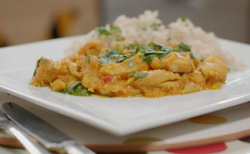 Gregg Wallace's chicken curry on Eat Well for Less?