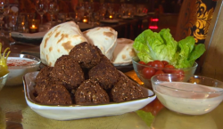 Tony's chickpea falafels on Food and Drink
