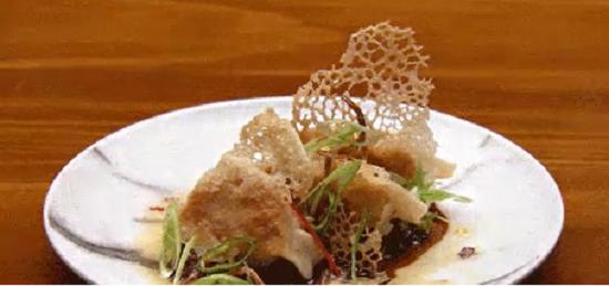 Tamara's prawn and chilli pot stickers with chilli sauce on Masterchef Australia 2017