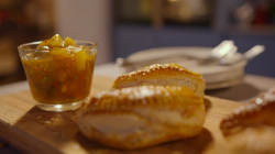 Simon Rimmer's chicken and rice parcels with chutney on Eat the Week with Iceland