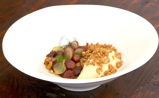 The Purple Team's Grapes and Grains on Masterchef Australia 2017