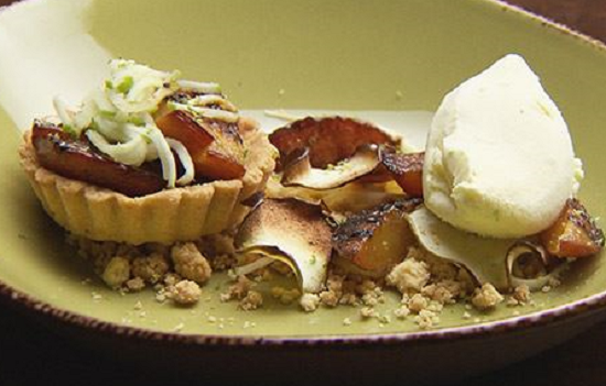 Tamara's Nectarine and Apple Tart on Masterchef Australia 2017