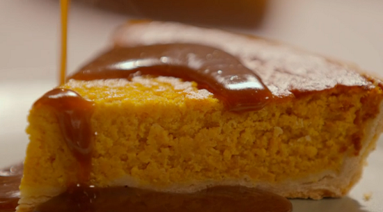 Simon Rimmer Pumpkin pie on Eat the Week with Iceland